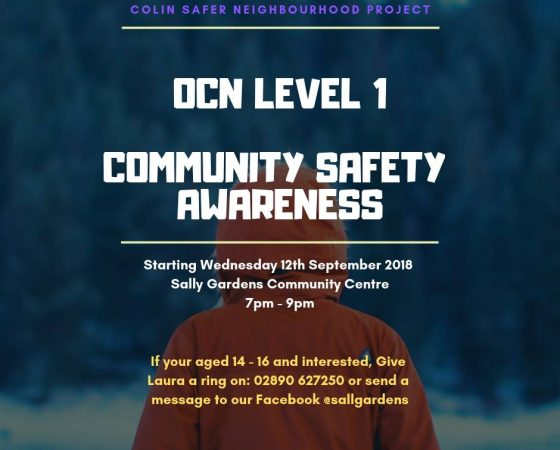 OCN Community Safety Level 1 and Level 2